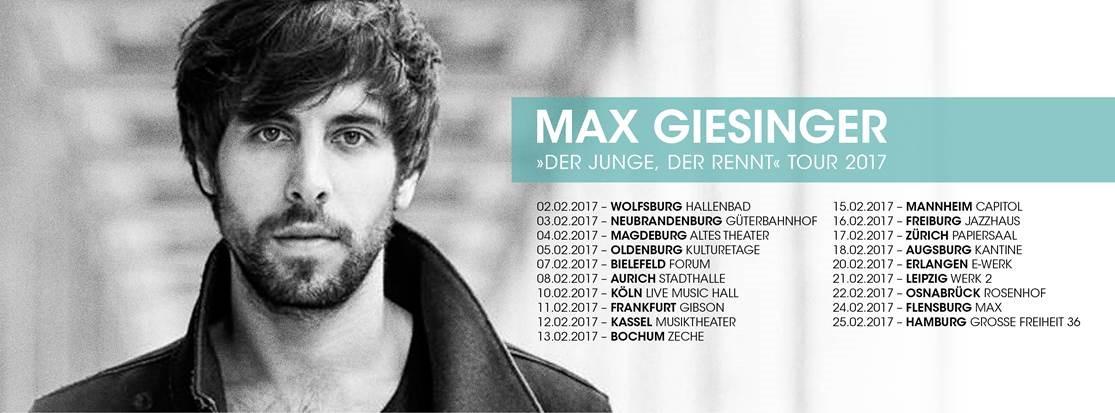 Max Giesinger Live In Aurich Radio Nordseewelle