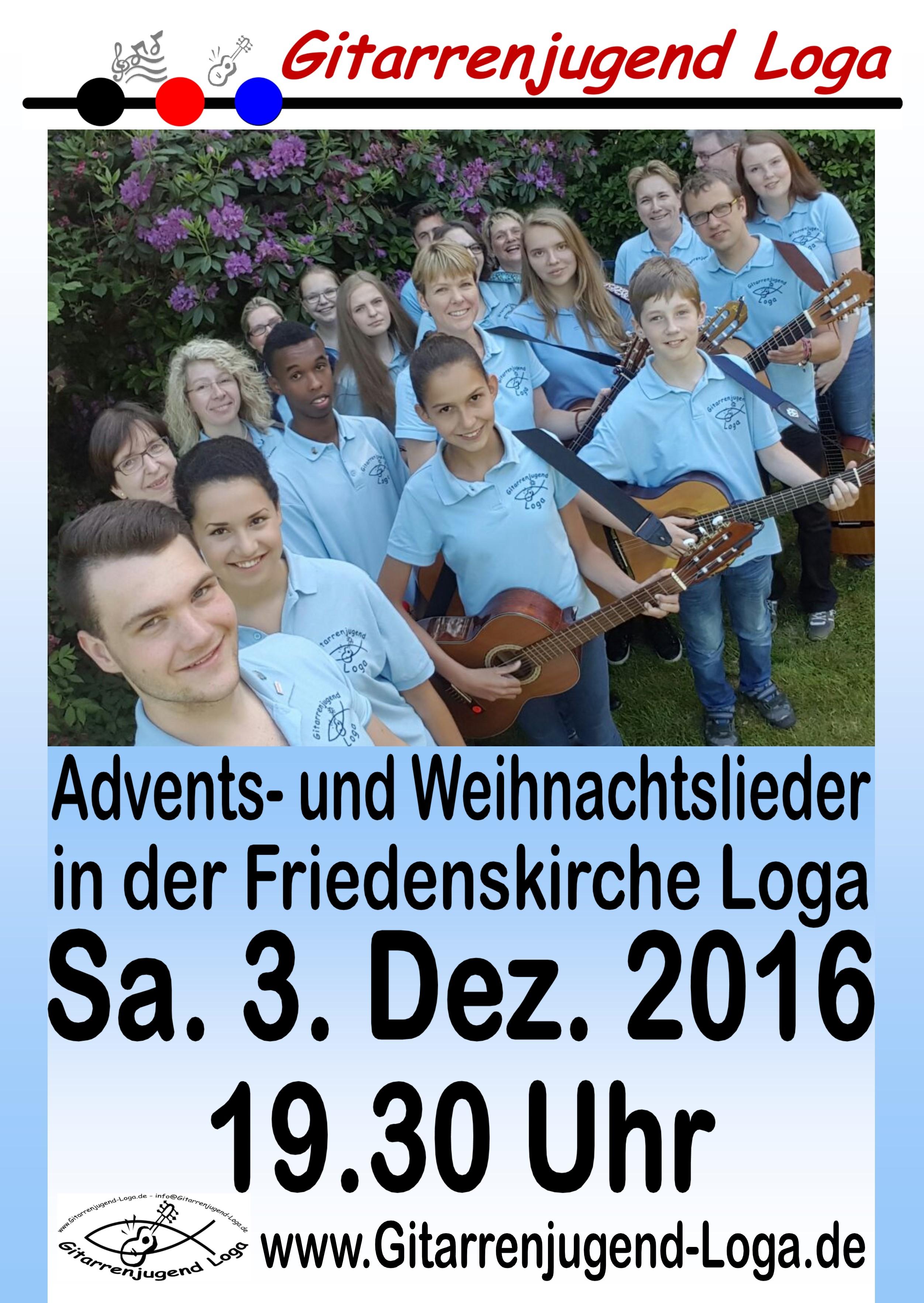 Advents- und Weihnachtslieder in der Friedenskirche Loga – Radio ...