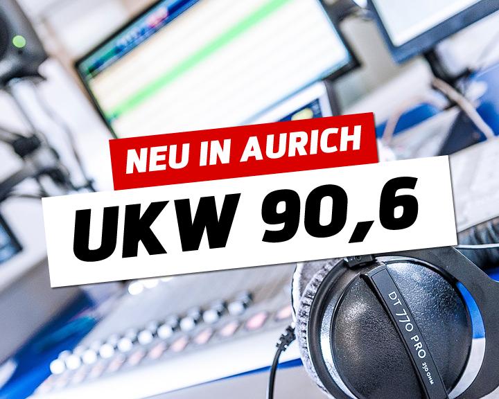 90,6 MHz unsere neue Frequenz für die Region Aurich, Emden und Leer