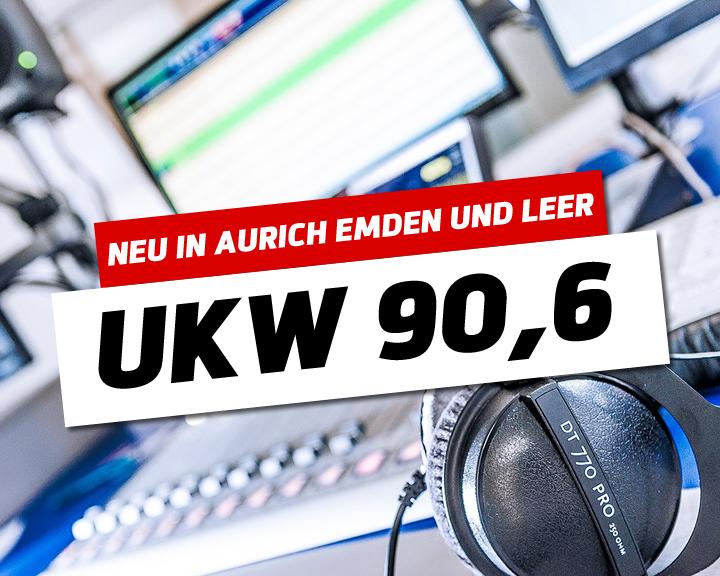 90,6 MHz für die Region Aurich, Emden und Leer