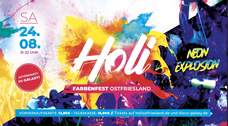 Holi Farbenfest Ostfriesland