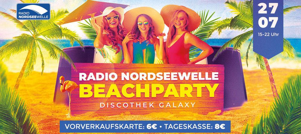Radio Nordseewelle | Beach Party 2019