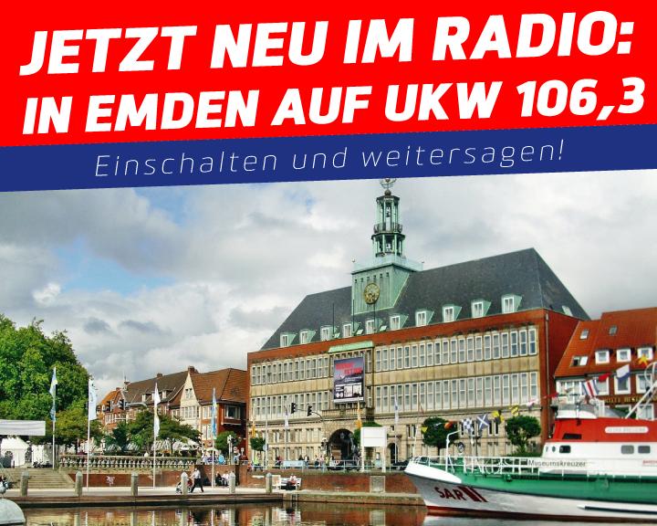 Empfang in Emden